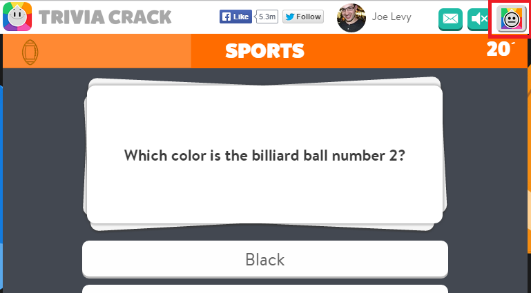 Trivia Cracker running on Trivia Crack to answer questions for me
