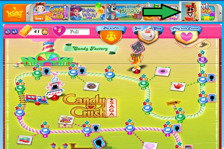Candy Crush Cracker in action